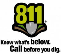 Call 811 before you dig.